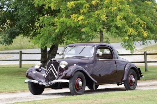 1937 Citroën Traction 7c Faux Cabriolet Classic Car Auction Database