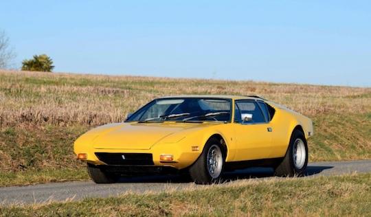 De Tomaso Pantera Classic Car Auction Database