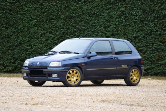 1993 renault clio williams phase 1 classic car auction database. Black Bedroom Furniture Sets. Home Design Ideas