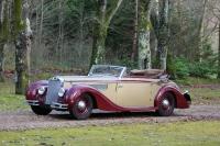 1938 Delage D8 120 Cabriolet par Chapron