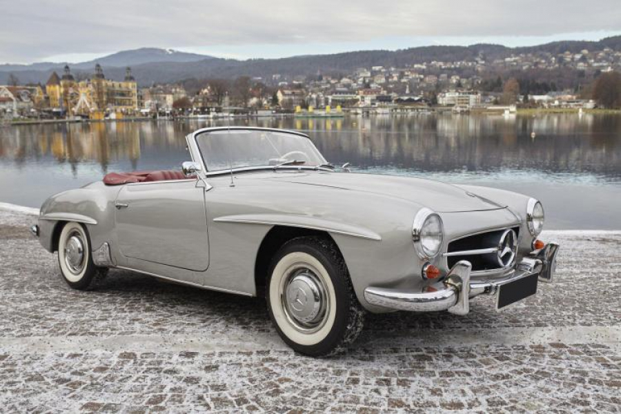 1956 Mercedes Benz 190 Sl Classic Car Auction Database
