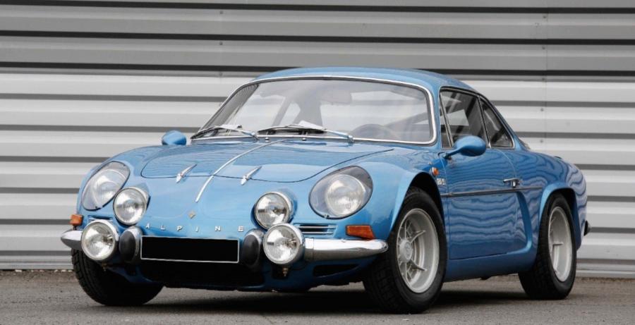 Alpine A110 1600 Sc Classic Car Auction Database