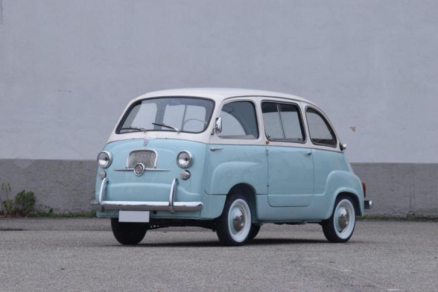 1963 Fiat 600 Multipla Type 100 D No Reserve Classic Car Auction