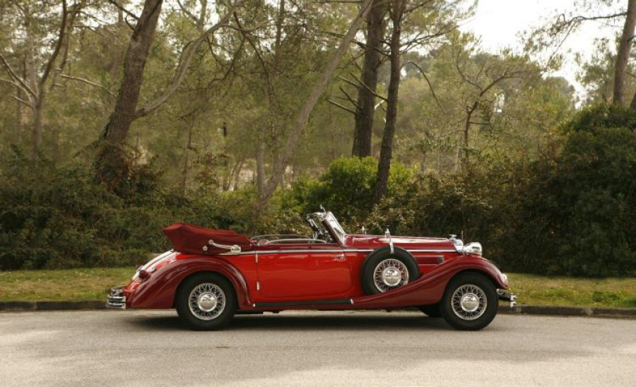 1938 Horch 853 A Cabriolet Classic Car Auction Database