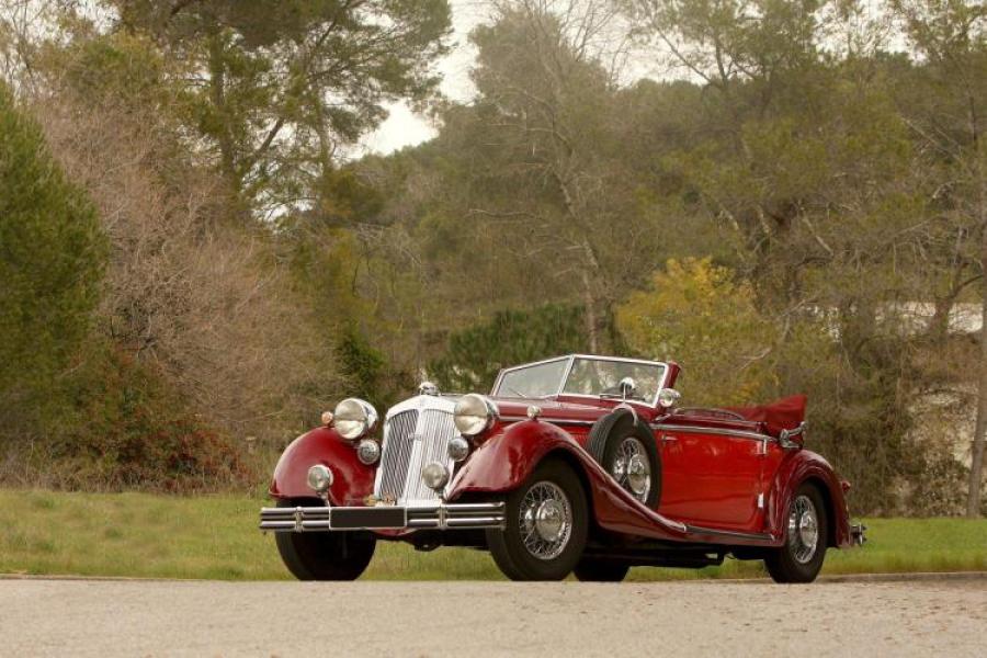 1938 Horch 853 A Cabriolet Classic Car Auction Database