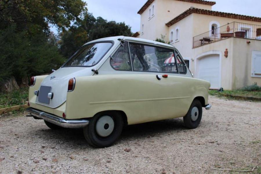 1954-58 Nash Metropolitan Convertible Top